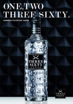 Poster One, Two Three Sixty Wodka